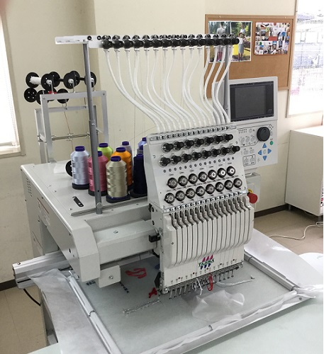 Introduced the latest single head embroidery sewing machine