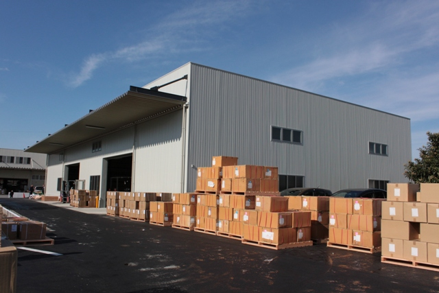 New warehouse was completed