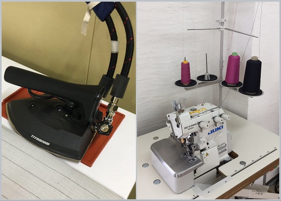 We introduced new iron, melo sewing machine