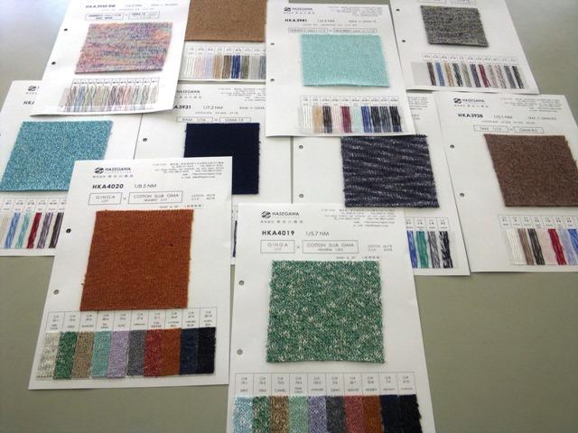 撚糸企画商品開発について