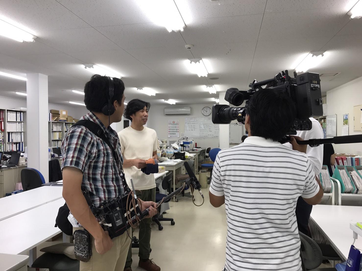 東海テレビ「みんなのニュースOne」の取材を受けました